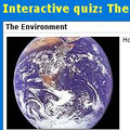 online quiz  on  and